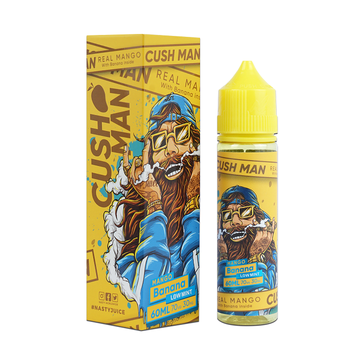 Cush Man Banana 60ml – Nasty Juice