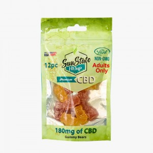 Gomitas CBD Rings Bag 180mg – Sun State Hemp